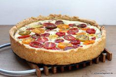 Schöner Tag noch! Food-Blog mit leckeren Rezepten für jeden Tag: Nachgekocht: Ricotta-Tomaten-Tarte mit Rosmarin-Vinaigrette