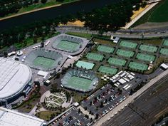 Melbourne Tennis Centre....Home of the Australian Open