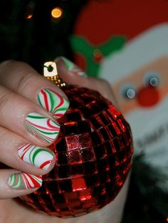 Penguin Nail Designs   Christmas Nail Designs 2012 - Fashion Style Trends