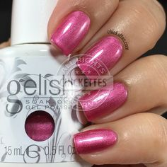 Gelish It's Gonna Be Mei - Swatch by Chickettes.com