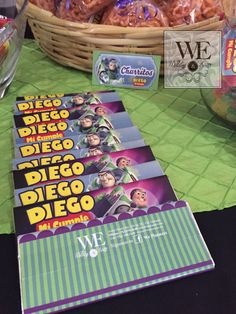 Fascinante Candy Bar de Toy Story / WEPlanners