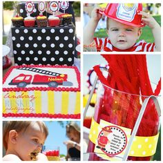 Amanda's Parties TO GO: {Customer Shindig} Firetruck Party