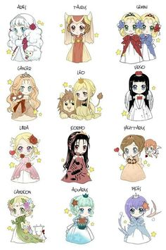 Chibi Zodiac by ~Louna-Ashasou on deviantART I want to make and wear the Taurus ensemble. It's adorable. Chibi Zodiac by ~Louna-Ashasou on deviantART I want to make and wear the Taurus ensemble. It's adorable. Anime Chibi, Anime Pokemon, Signes Zodiac, Zodiac Sign Fashion, Zodiac Star Signs, Cute Chibi, Cute Drawings, Cute Art, Animation