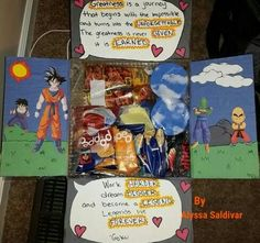 For Him Boyfriend Gifts Birthday Care Packages Valentine Box Day Christmas Deployment Dragon Ball Z