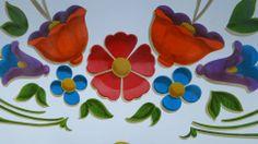 Silvia Dota Arte Popular, Tango, Paper Art, Craft Projects, Folk, Tapestry, Earrings, Pattern, Crafts