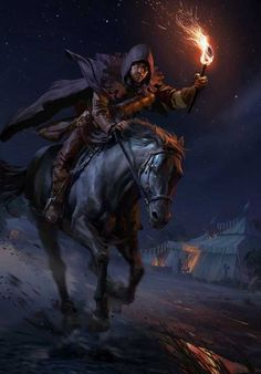 """Grey Rider Another artwork for CD Projekt Red's new game """"Thronebreaker: The Witcher Tales"""" My Fantasy World, High Fantasy, Fantasy Rpg, Medieval Fantasy, Fantasy Artwork, Epic Characters, Fantasy Characters, Dark Souls, Poses References"""