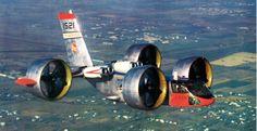 enrique262:   Bell X-22 experimental tilting... - British Eevee