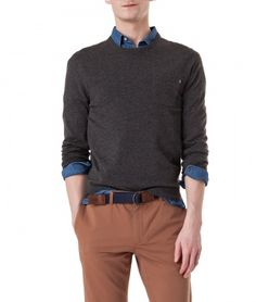 Lexington Clothing Company Fall Collection 2016, Men. Jeff Crew Neck Sweater.