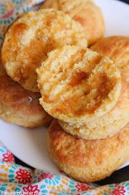 Eat Cake For Dinner: Cornmeal Buttermilk Biscuits