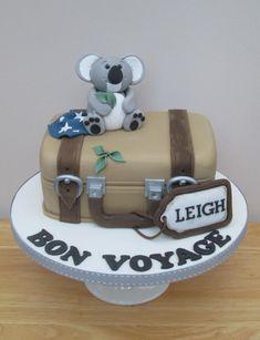 Bon Voyage - Cake by The Buttercream Pantry