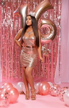 16th Birthday Outfit, Cute Birthday Outfits, Birthday Goals, Birthday Fashion, Sweet 16 Birthday, Birthday Woman, Birthday Dresses, Birthday Ideas, 21st Birthday