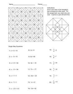 1000 images about math coloring pages on pinterest maths puzzles solving equations and. Black Bedroom Furniture Sets. Home Design Ideas