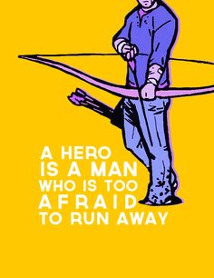 """I'm not going anywhere."" - Hawkeye<< Uhh what about Women??? We are heroes too, and badass ones that is"