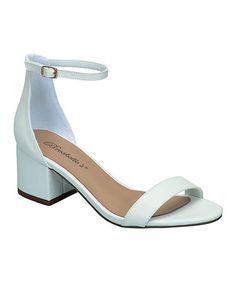 Love this White Aileen Sandal on #zulily! #zulilyfinds