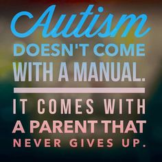 So True!!! We will never give up on are kids!!
