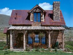 Prepare to Fall in Love With This Tiny Montana Cabin  - CountryLiving.com