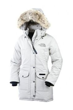 The North Face Women's Trillium Parka Down Hoodie White