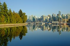 Stanley Park Harbourfront Vancouver Photos, Stanley Park, New York Skyline, Travel, Viajes, Trips, Tourism, Traveling
