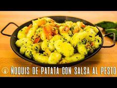 Cómo hacer Ñoquis de Patata al Pesto - Recetas de Cocina Casera - Recetas fáciles y sencillas