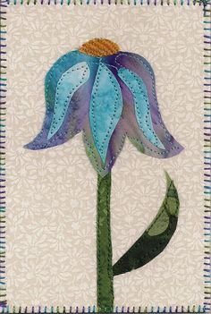 Image detail for -Sunrise Quilt Studio: Quilted Postcards