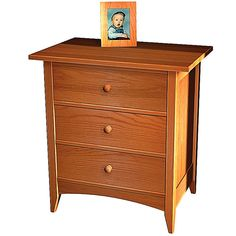 3 Drawer Nightstand Plans Free