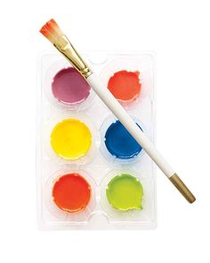 DIY watercolor paint comes together easily with a few simple ingredients.