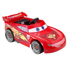 power wheels lightning mcqueen 6 volt battery powered ride on ages