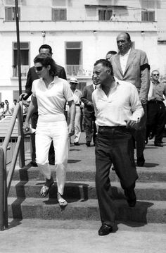 Jacqueline Kennedy and Gianni Agnelli, 1962.