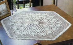 Free graph for this Crochet Centerpiece……..