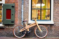 wooden bike droog amsterdam | Flickr - Photo Sharing!