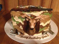 Josh's Hunting Cake