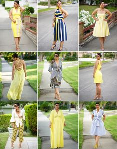 6bf7c840e4a A full look at my DIY Yellow Collection is now on the blog. Le Tote