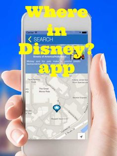 Where in Disney app - free app to find anything at Disney World (including Anna/Elsa merch, cocktails, etc.)
