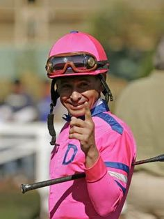 jockey Mike Smith -