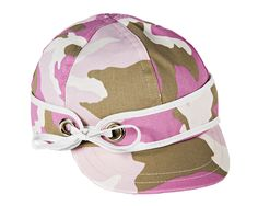 The all-new Ida's Infielder Cap from #StormyKromer, available now! Cotton, unlined, one size fits most. In Pink Camo. #MakeItAStormySpring