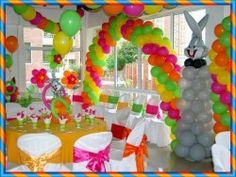 Los globos como decoración de fiestas infantiles