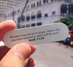 Prayer Verses, Scripture Verses, Bible Verses Quotes, Bible Scriptures, Faith Quotes, Word Of Faith, Word Of God, Mark 11 24, God Help Me