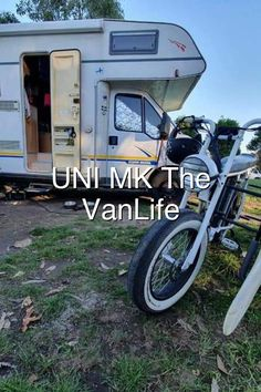 We travell with our van AND our UNI MK electric utility bike Its the best combination ever The bike is small and sturdy and can transport up to three people or your surfboard Or your grocery Simply leave your van parked at your favorite vanlife spot hop on your bike and discouver your sourundings in a compleet new unspoilt way Even if you can not travell far This is the best staycation