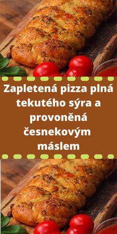 Zapletená pizza plná tekutého sýra a provoněná česnekovým máslem Pepperoni, Mozzarella, Pizza, Turkey, Meat, Food, Turkey Country, Essen, Meals
