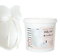 Belly Cast smoothing kit PRO I Finishing & repair kit plaster cast // - english and german Belly Casting, Diy Step By Step, Artist Brush, Ceramic Coating, Kit, Mini Tattoos, Plaster, Gender Reveal, Atelier