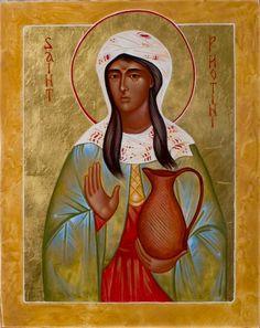 St. Photini (the Samaritan Woman) by Anna DuMoulin