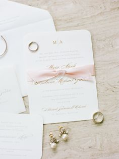 We wanted our wedding invitations to be simple, romantic, and classic. I wanted them to reflect our classic style and set the tone for a beautiful evening. Blush Wedding Stationery, Living In Denver, Wedding Programs, Cincinnati, Letterpress, Real Weddings, Our Wedding, Reception, Things To Come