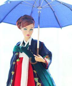 한복 Hanbok : Korean traditional clothes[dress]  : Dolls Hanbok