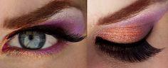 Purple & Copper Makeup inspired by Disney's Megara