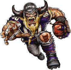 Minnesota Vikings Extreme Logo Fathead at Menards