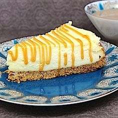 I'm not much for cheesecake, but this one's picture made me drool...