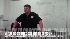 "Video: What does success mean to you? from ""What is success…and why you might have it already?"" - #career"