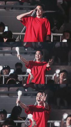 Xiumin - 190728 Attending Exoplanet - The EXpℓOration in Seoul Credit: NatNat. Kim Minseok Exo, Baekhyun Chanyeol, Exo Ot12, Park Chanyeol, Kris Wu, K Pop, Exo Dear Happiness, Exo For Life, Exo Korea