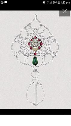 Embroidery Neck Designs, Bead Embroidery Patterns, Bead Embroidery Jewelry, Beaded Embroidery, Antique Earrings, Antique Jewelry, Mughal Jewelry, Pencil Crafts, Watch Drawing