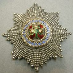 The Duke of Connaught's Star of St Patrick, 1870, R & S Garrard & Co.
